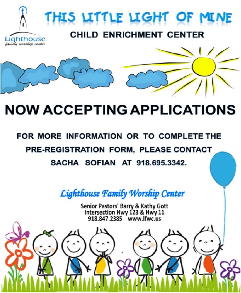 Child Enrichment Flier